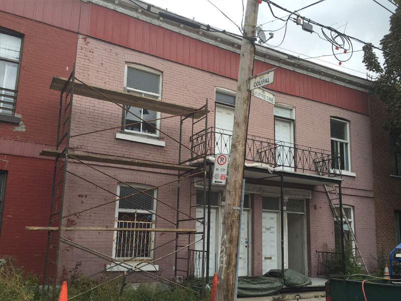 décapage de peinture, restauration de bâtiment, hydro-restauration
